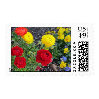 Colorful Spring Postage