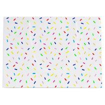 colorful sprinkles large gift bag
