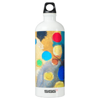 >Colorful Sprites (abstract naive painting) SIGG Traveler 1.0L Water Bottle