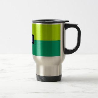 Colorful Square Blocks Travel Flask Travel Mug