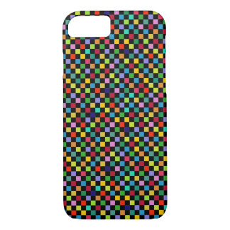 colorful square pattern iPhone 7 case