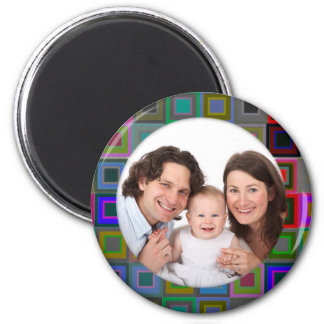 Colorful Square/Photo Refrigerator Magnet