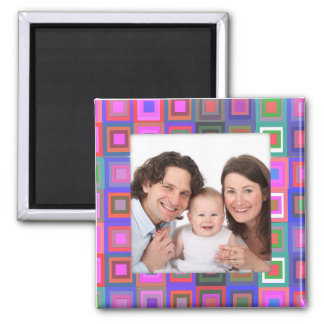 Colorful Square/Photo Refrigerator Magnets