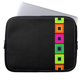 Colorful Squares Design Computer Sleeve