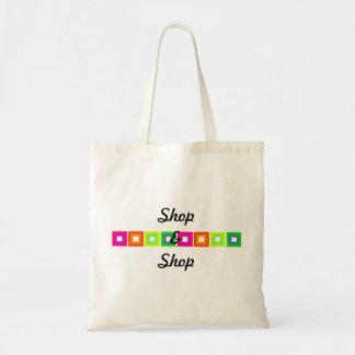 Colorful Squares Design Tote Bag