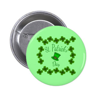 Colorful St. Patrick's Day Badge / Pin