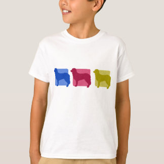 Colorful Stabyhoun Silhouettes T-Shirt