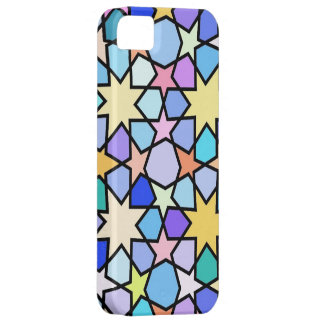 Colorful Stain glass effect Stars iPhone SE/5/5s Case