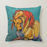 Colorful Stallion Pillow