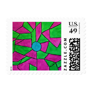 Colorful Stamp