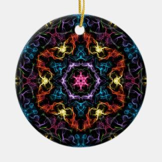Colorful Star Ceramic Ornament