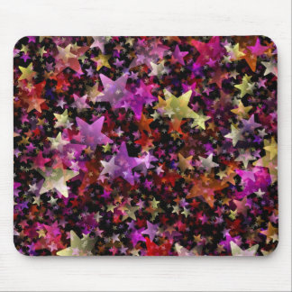 Colorful Star Cluster Mouse Pad