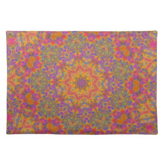 Colorful Star Geometric Placemats