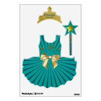 Colorful Star Light Princess Wall Stickers