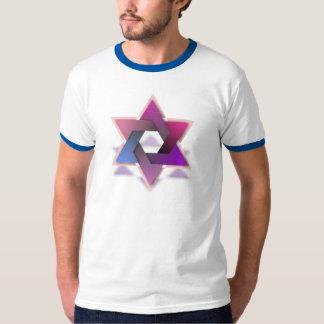 Colorful Star of David T-shirt