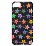 Colorful star pattern iPhone 5C case