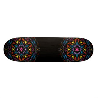 Colorful Star Skate Board Deck