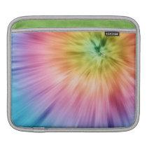 Colorful Starburst Tie Dye iPad Sleeve