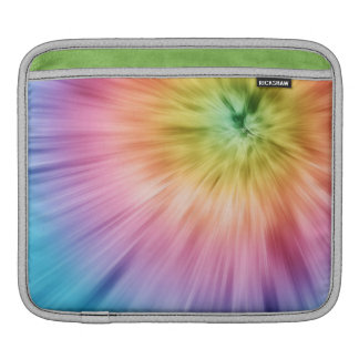 Colorful Starburst Tie Dye iPad Sleeve