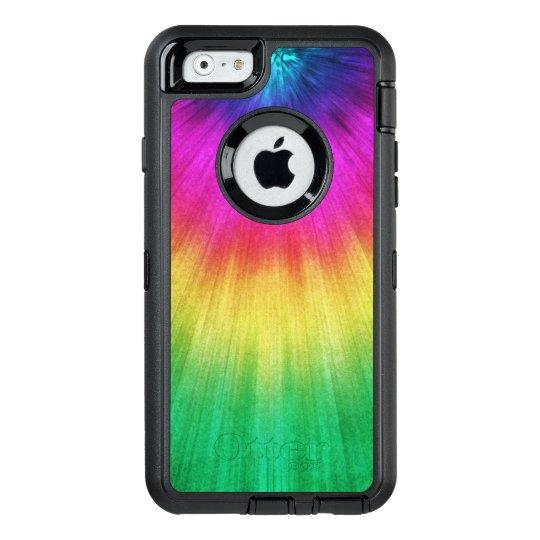 wholesale dealer 8147e 603eb Colorful Starburst Tie Dye OtterBox iPhone Case