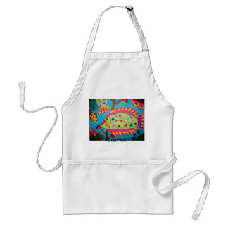 "Colorful ""Starfish"" Apron"