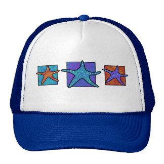 Colorful Starfish Hat