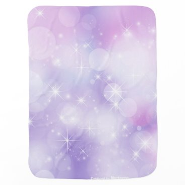 Beach Themed Colorful Stars Baby Blanket By: Green Geko Beach