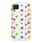 Colorful Stars Case-Mate iPhone 4 Case