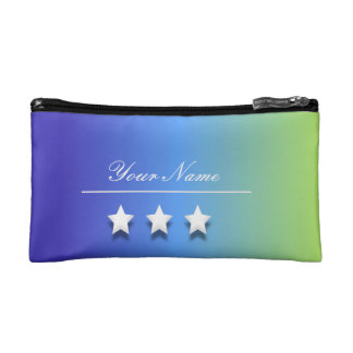 Colorful Stars Cosmetic Bag