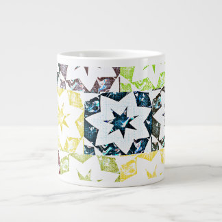 Colorful Stars♥ Giant Coffee Mug