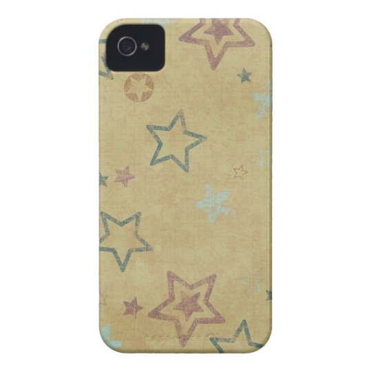 Colorful Stars iPhone 4/4S Case