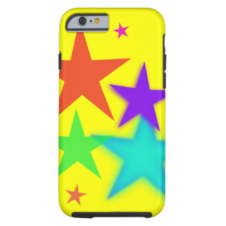 Colorful Stars iPhone 6 case Hard Case
