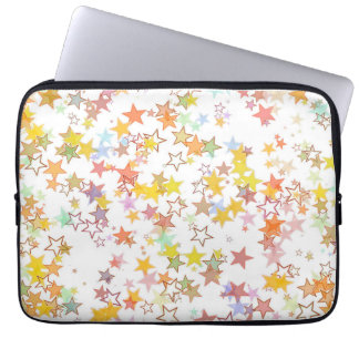 Colorful Stars Laptop Sleeve