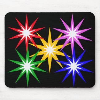 Colorful Stars Mousepad