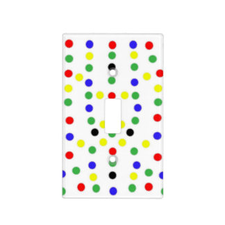 Colorful Stars of RGB Light Switch Cover