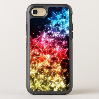 Colorful Stars OtterBox Symmetry iPhone 7 Case