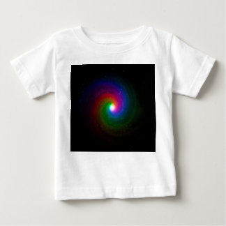 Colorful Stars Swirling Towards a Bright Center Baby T-Shirt