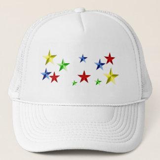 Colorful Stars Trucker Hat