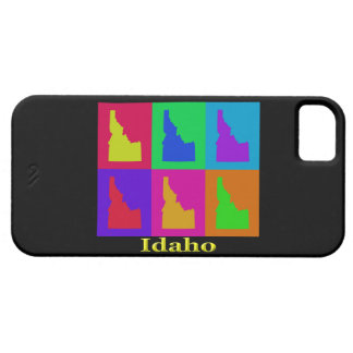 Colorful State of Idaho Pop Art Map iPhone SE/5/5s Case