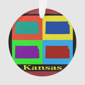 Colorful State of Iowa Pop Art Map