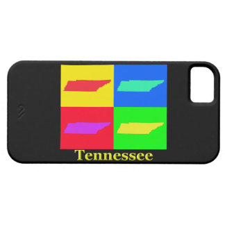Colorful State of Tennessee Pop Art Map iPhone SE/5/5s Case