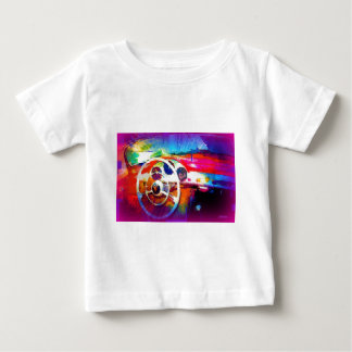 Colorful Steering Wheel Baby T-Shirt