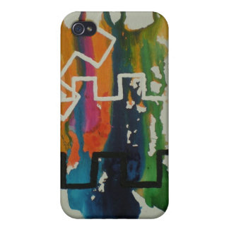 Colorful steps case for iPhone 4