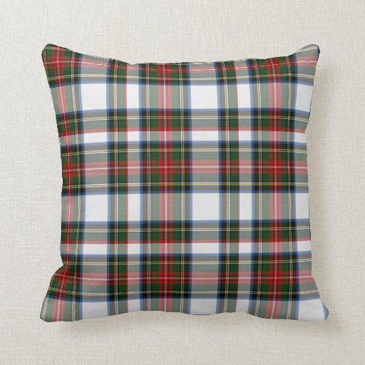 Colorful stewart dress tartan plaid pillow zazzle Define plaid