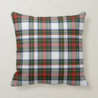 Colorful Stewart Dress Tartan Plaid Pillow