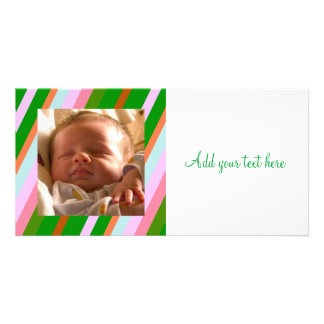 Colorful Stipes Card