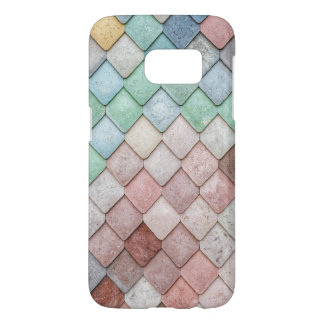 Colorful Stone Texture Samsung Galaxy S7 Case