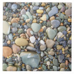 Colorful stones and rocks tiles
