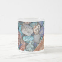 Colorful stones frosted mug