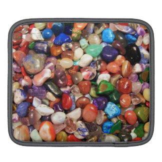 Colorful Stones iPad Sleeve